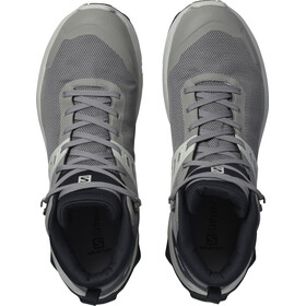 Salomon X Raise Mid GTX Zapatillas Hombre, gris/blanco
